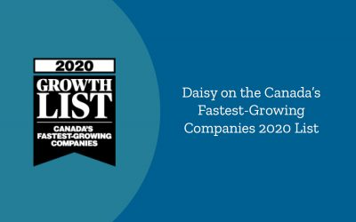 Daisy on the 2020 Growth List